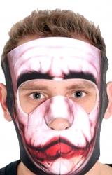 Meia Máscara Dublada Coringa