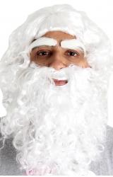 Peruca com Barba Papai Noel