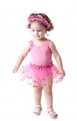Fantasia Bailarina Bebê Basic