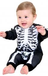 Fantasia Macacão Esqueleto