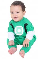 Fantasia Macacão Lanterna Verde