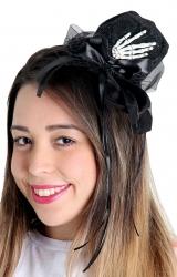 Mini Chapéu Mao de Esqueleto