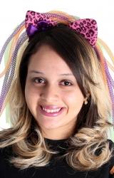 Tiara Gatinha Multicores