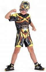 Fantasia Transformers 4 Pop - Amarelo