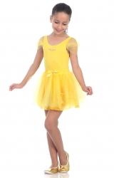 Fantasia Bailarina Amarelo
