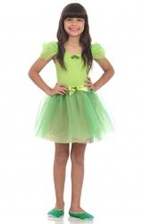 Fantasia Bailarina Verde Limão