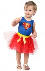 Fantasia Super Mulher Dress Up Bebê