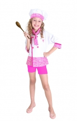 Fantasia Barbie Quero Ser Chef
