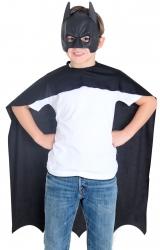 Kit Batman Capa e Máscara