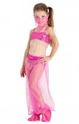 Fantasia Princesa da Arábia Rosa