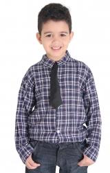 Fantasia Camisa Caipira com Gravata