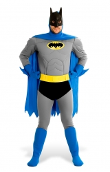 Fantasia Batman Os Bravos e Destemidos Luxo