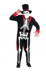 Fantasia Esqueleto Luxo