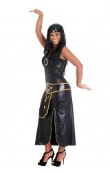 Fantasia Cleópatra Preto/dourado