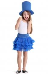 Fantasia Make Your Own - Saia Tutu Azul Infantil