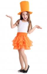 Fantasia Make Your Own - Saia Tutu Laranja Infantil