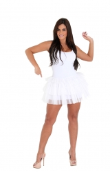 Fantasia Vestido Branco