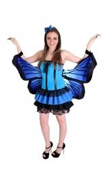 Fantasia Borboleta Azul