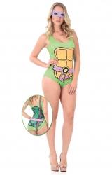 Fantasia Body Tartaruga Ninja Donatello Adulto