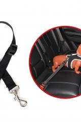 Adaptador de Coleira P/cinto de Segurança Preto Pet