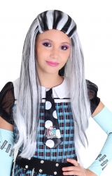 Peruca Monster High Frankie