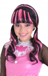 Peruca Monster High - Draculaura